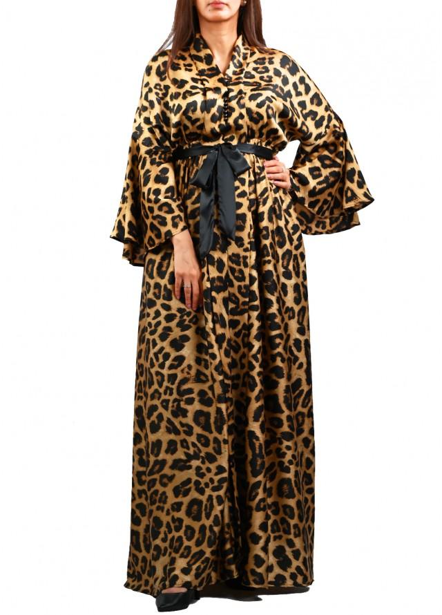 فستان نمري طويل