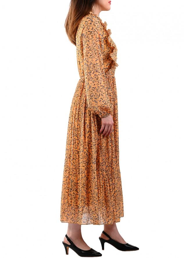 فستان كسرات بيليسة مشجر
